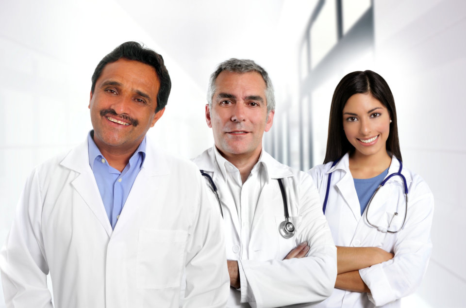 Multiracial Healthstaffs